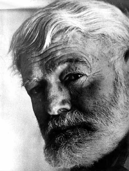 Papa Hemingway, personagem de Você pode ser infeliz!