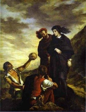 Hamlet é uma das referências no trabalho de Natanel Sá.