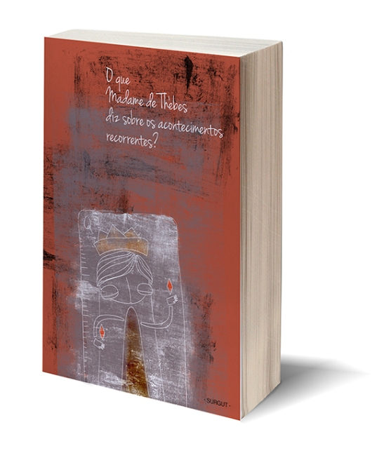 Blank white book w/path